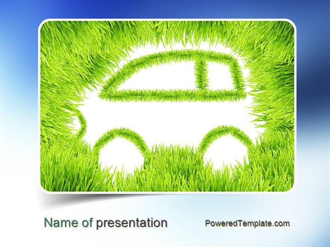 Ecological Car Powerpoint Template Authorstream