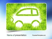 Ecological Car PowerPoint Template