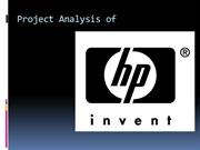 hp company profile