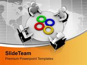 Meeting With Different Solution For A Problem PowerPoint Templates PPT