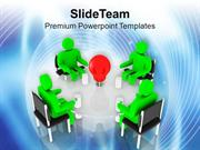 Evolve The Ideas For Business Growth PowerPoint Templates PPT Themes A
