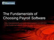 Huge Advantage of Having A Payroll Software
