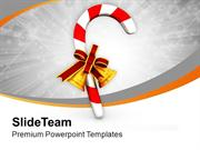 Candy For This Christmas PowerPoint Templates PPT Themes And Graphics