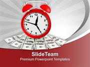 Money Growth Is Depend On Time PowerPoint Templates PPT Themes And Gra