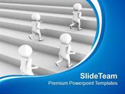 Be The Winner In Business Race PowerPoint Templates PPT Themes And Gra
