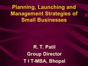 Small Business Managment