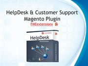 HelpDesk & Customer Support Magento Extension