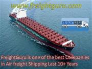 FreightGuru Give Perfect Solutions for Air Freight Shipping