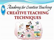 Creative Teaching Technique-Dubai