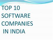 TOP 10 SOFTWARE COMPANIES