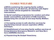 FAMILY WELFARE G P BASKARAN
