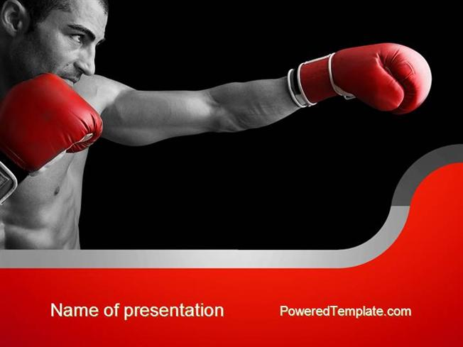 Kickboxing authorstream kickboxing powerpoint template toneelgroepblik