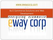 E Commerce Solutions and Web Development