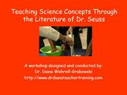 Teaching Science Concepts Through the Literature of Dr Seuss