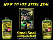 How To Use Steel Seal Head Gasket Repair