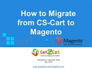 How to Migrate from CS-Cart to Magento
