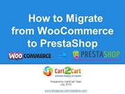 How to Migrate from WooCommerce to PrestaShop