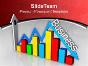 Arrow Shows Business Ups Down PowerPoint Templates PPT Themes And Grap