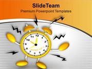 Keep The Track Of Alarm Signs PowerPoint Templates PPT Themes And Grap