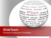 Make A Plan For Business Growth PowerPoint Templates PPT Themes And Gr