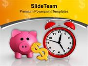 Money Increases With Time PowerPoint Templates PPT Themes And Graphics