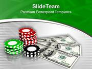 Play The Royal Flush And Win Money PowerPoint Templates PPT Themes And