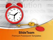 Time Management Is The Key Of Success PowerPoint Templates PPT Themes