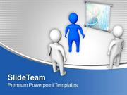 Business Result Meeting With Team PowerPoint Templates PPT Themes And