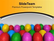 Colored Balloons For Party Theme PowerPoint Templates PPT Themes And G