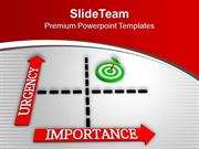 Focus On The Target In Business PowerPoint Templates PPT Themes And Gr