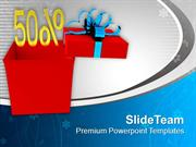 Get The Gift Of 50 Percent Off PowerPoint Templates PPT Themes And Gra