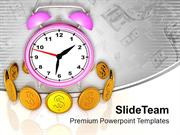 Money Depends On Time PowerPoint Templates PPT Themes And Graphics 051