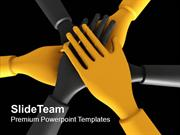 Take The Pledge For Business Growth PowerPoint Templates PPT Themes An