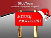 Wish Merry Christmas To All Your Friends PowerPoint Templates PPT Them