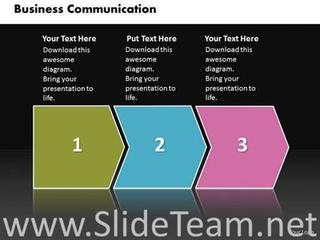3 staged business communication diagram powerpoint diagram 3 staged business communication diagram related powerpoint templates wajeb Choice Image