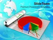 Business Pie Chart Marketing PowerPoint Templates PPT Themes And Graph