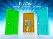 Choose Right Opportunity In Business PowerPoint Templates PPT Themes A