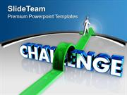 Face The Challenges In Life PowerPoint Templates PPT Themes And Graphi