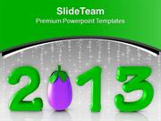 Go Green This New Year PowerPoint Templates PPT Themes And Graphics 05