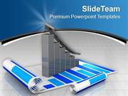 Marketing Bar Graph For Result PowerPoint Templates PPT Themes And Gra
