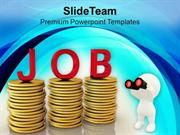 Search Job To Earn Money PowerPoint Templates PPT Themes And Graphics