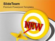 Set The New Target For Business PowerPoint Templates PPT Themes And Gr