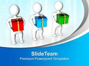 Share Gifts With Friends PowerPoint Templates PPT Themes And Graphics