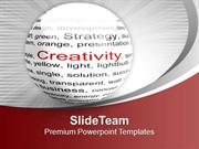 Show Your Creativity In Business PowerPoint Templates PPT Themes And G