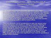Virtual offices London - Reducing the cost of