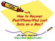 How to Recover Call History on iPhone 5 for Mac & Windows