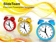 Value The Time To Earn Money PowerPoint Templates PPT Themes And Graph