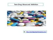 Teen Drug abuse and Addiction Guide