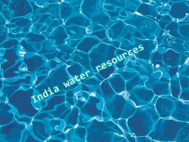 water scarcity in india ppt