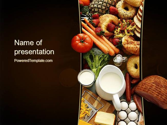 Plenty Of Food Powerpoint Template |Authorstream